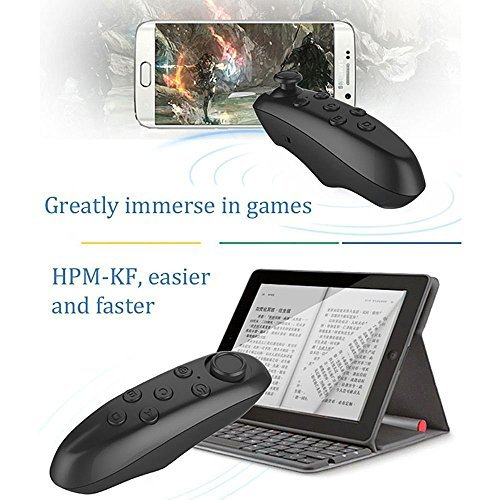 ▷ Pasonomi VR Controller, Wireless Bluetooth Gamepad Remote