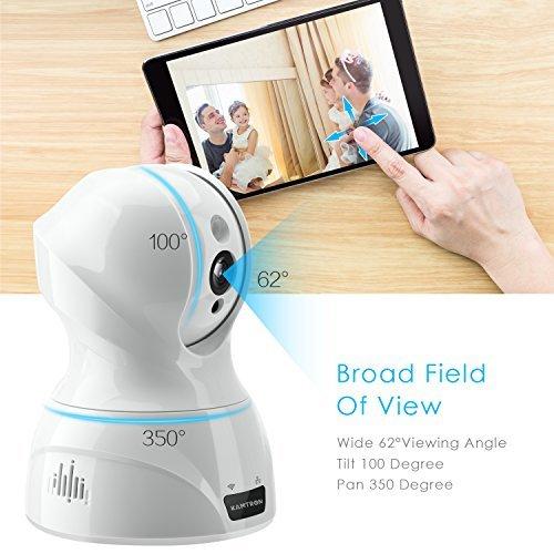 ▷ Wireless Security Camera,KAMTRON HD WiFi Security